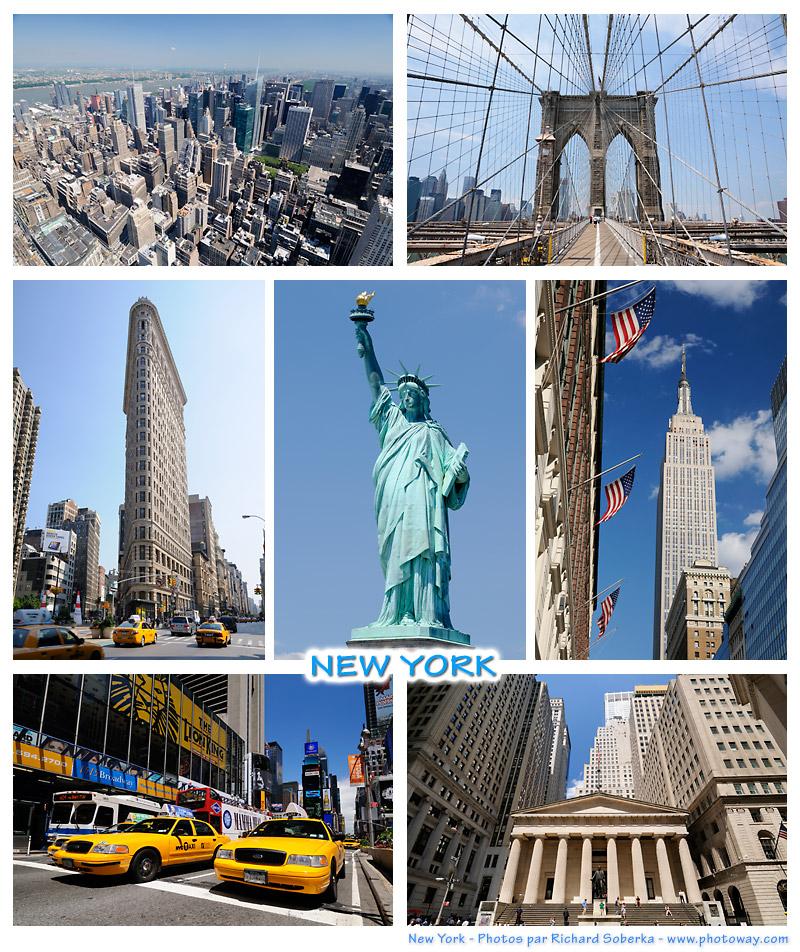 carte postale new york Carte postale new york photoway