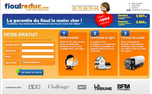 FioulReduc.com prix du fioul moins cher