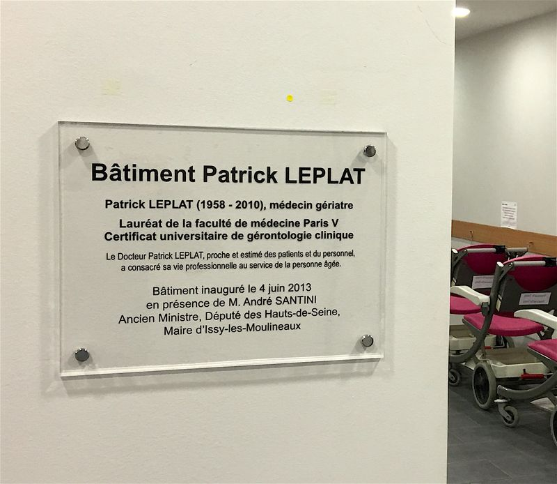 CS Plaque Patrick Leplat