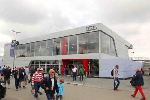 Audi Arena Extrerieur